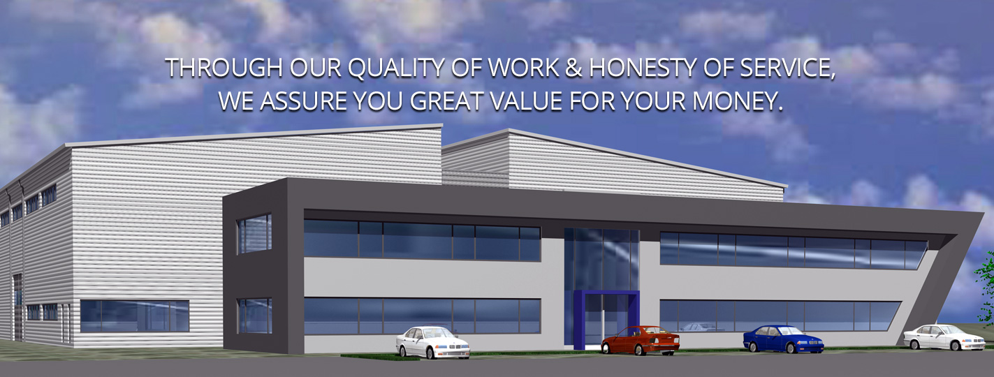 Through our quality of work & honesty of service, we assure you great value for your money.